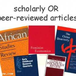 Journal Articles for your Research Work, Write-up, Literature Reviews and Publications